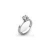 IMAGE OF 31-E103 ENGAGEMENT SOLITAIRE RING_ BRILLIANT CUT DIAMOND