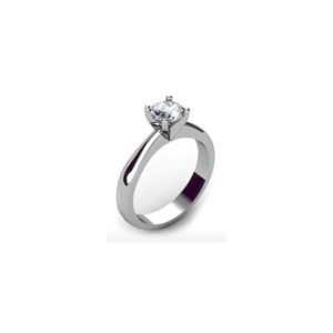 IMAGE OF 31-E105 ENGAGEMENT SOLITAIRE RING_ BRILLIANT CUT DIAMOND
