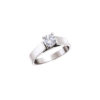 IMAGE OF 31-E109 ENGAGEMENT SOLITAIRE RING_ BRILLIANT CUT DIAMOND