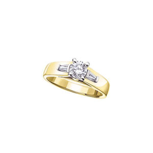 image of 31-E110 ENGAGEMENT SOLITAIRE RING_ BRILLIANT CUT DIAMOND