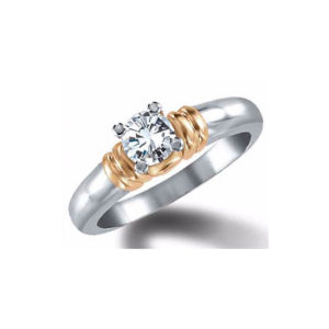 image of 31-E120 ENGAGEMENT SOLITAIRE RING_ BRILLIANT CUT DIAMOND