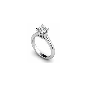 image of 31-E121 ENGAGEMENT SOLITAIRE RING_ BRILLIANT CUT DIAMOND