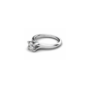 image of 31-E124 ENGAGEMENT SOLITAIRE RING_ BRILLIANT CUT DIAMOND