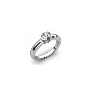 image of 31-E125 ENGAGEMENT SOLITAIRE RING_ BRILLIANT CUT DIAMOND