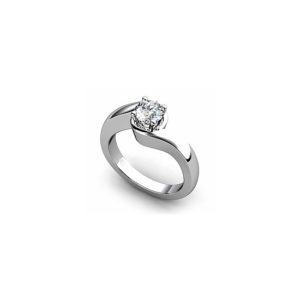 IMAGE OF 31-E128 ENGAGEMENT SOLITAIRE RING_ BRILLIANT CUT DIAMOND