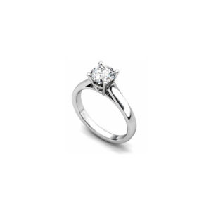 IMAGE OF 31-E130 ENGAGEMENT SOLITAIRE RING_ BRILLIANT CUT DIAMOND