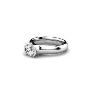 IMAGE OF 31-E131 ENGAGEMENT SOLITAIRE RING_ BRILLIANT CUT DIAMOND