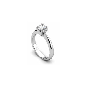 IMAGE OF 31-E135 ENGAGEMENT SOLITAIRE RING_ BRILLIANT CUT DIAMOND
