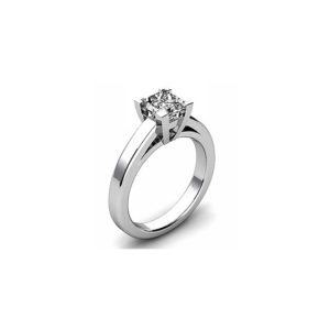 image of 31-E140 ENGAGEMENT SOLITAIRE RING_ BRILLIANT CUT DIAMOND