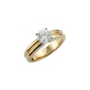 IMAGE OF 31-E211 ENGAGEMENT SOLITAIRE RING_ BRILLIANT CUT DIAMOND