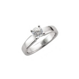 image of 31-E213 ENGAGEMENT SOLITAIRE RING_ BRILLIANT CUT DIAMOND