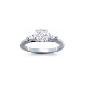 IMAGE OF 31-E216 ENGAGEMENT SOLITAIRE RING_ BRILLIANT CUT DIAMOND
