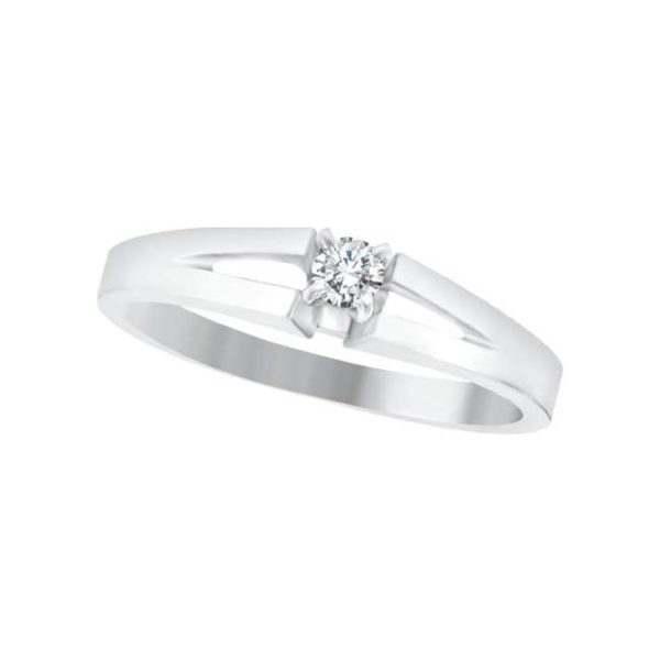 image of 71-046 PROMISE RINGS_BEST SELLER, UNIQUE STYLE DIAMOND SET LOVE RING
