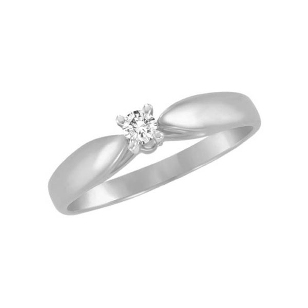 IMAGE OF 71-1581 PROMISE RINGS_UNIQUE STYLE DIAMOND SET FRIENDS RING