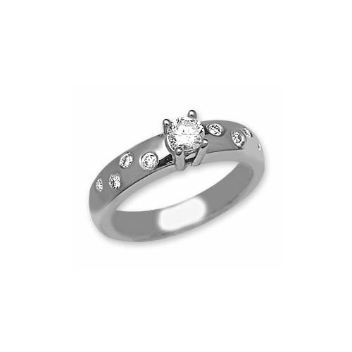 IMAGE OF 71-1822 Diamond Promise Ring_White promise ring awesome style