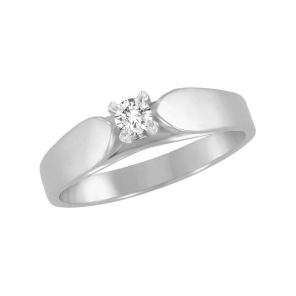 IMAGE OF 71-562 PROMISE RINGS_UNIQUE STYLE DIAMOND SET FRIENDS RING