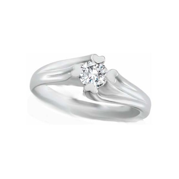 image of 71-99 PROMISE RINGS_DIAMOND PROMISE RING WITH LOVE