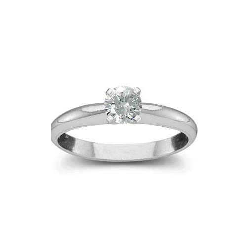 image of 71-B120 Diamond Promise Ring_White gold solitaire style