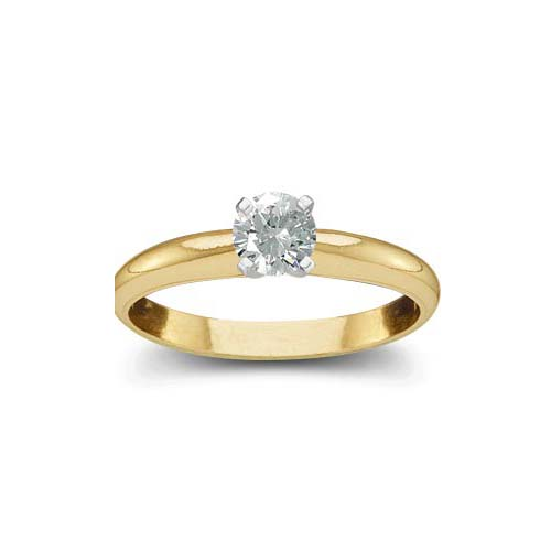 image of 71-B120A Diamond Promise Ring_White gold solitaire style