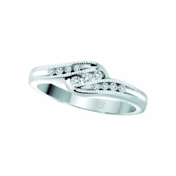image of 71-CE102 PROMISE RINGS_BEST SELLER, UNIQUE STYLE DIAMOND SET, LOVE RING