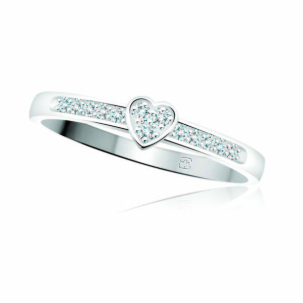 image of 71-DB32 PROMISE RINGS_MODERN AND STYLISH DIAMOND PROMISE RING