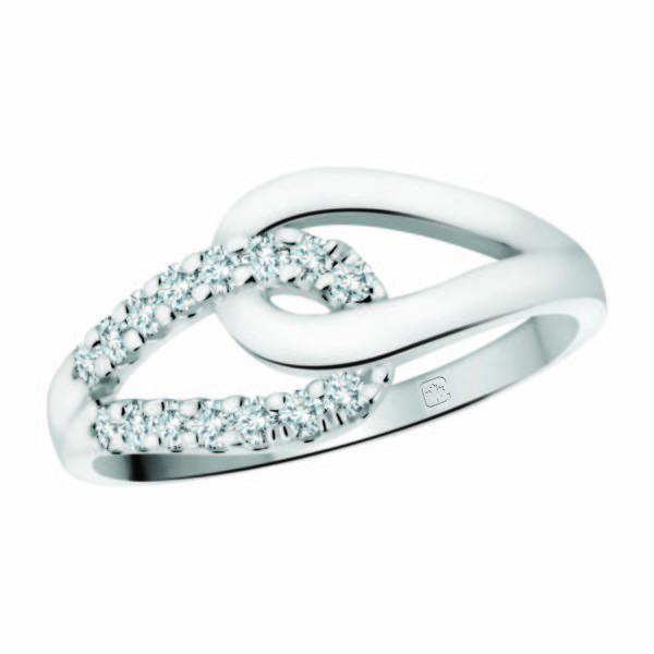 image of 71-DB45 PROMISE RINGS_MODERN AND STYLISH DIAMOND PROMISE RING