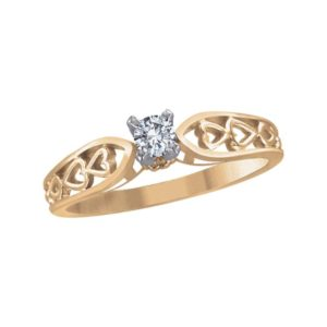 image of 71-NN44 PROMISE RINGS_BEST SELLER, UNIQUE STYLE DIAMOND SET, LOVE RING