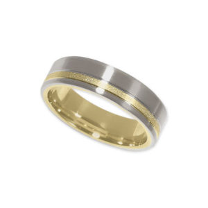 image of 11-775 WEDDING BANDS_TWO TONE STYLE