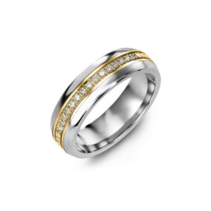 image of 11-A102 WEDDING RINGS_ DIAMOND SET BAND DIAMOND WEDDING RING