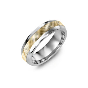 IMAGE OF 11-A116 WEDDING RINGS_ DIAMOND SET BAND - DIAMOND CUT WEDDING BAND