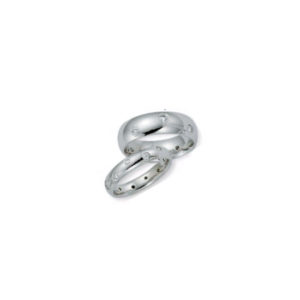 IMAGE OF 21-2134 WEDDING BANDS_ HIS AND HERS MATCHING RINGS WITH DIAMONDS