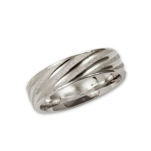 image of 21-W932 WEDDING BANDS_WHITE GOLD SPECIAL DESIGN COMFORTFIT