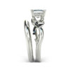 IMAGE OF 31-B172B ENGAGEMENT RINGS_CLASSIC MODERN FASHIONABLE BRIDAL RING YOUR CHOICE OF CENTER DIAMOND