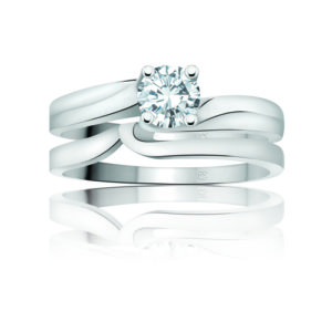 IMAGE OF 31-B178 Exquisite ENGAGEMENT RINGS_CLASSIC MODERN FASHIONABLE BRIDAL RING