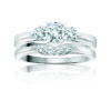 IMAGE OF 31-B179 Gleaming ENGAGEMENT RINGS_CLASSIC MODERN FASHIONABLE BRIDAL RING