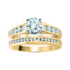 IMAGE OF 31-B181 Impassioned ENGAGEMENT RINGS_CLASSIC MODERN FASHIONABLE BRIDAL RING