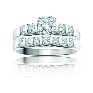 IMAGE OF 31-B182 Incandescent ENGAGEMENT RINGS_CLASSIC MODERN FASHIONABLE BRIDAL RING