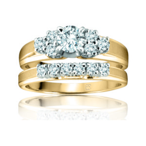 31-B187 Significant ENGAGEMENT RINGS_CLASSIC MODERN FASHIONABLE BRIDAL RING