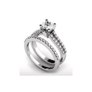 IMAGE OF 31-B195 ENGAGEMENT RINGS_BRIDAL SETS WITH MATCHING BAND