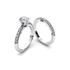 IMAGE OF 31-B197 ENGAGEMENT RINGS_BRIDAL SETS WITH MATCHING BAND