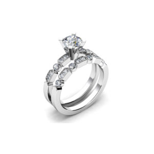 IMAGE OF 31-B198 ENGAGEMENT RINGS_BRIDAL SETS WITH MATCHING BAND