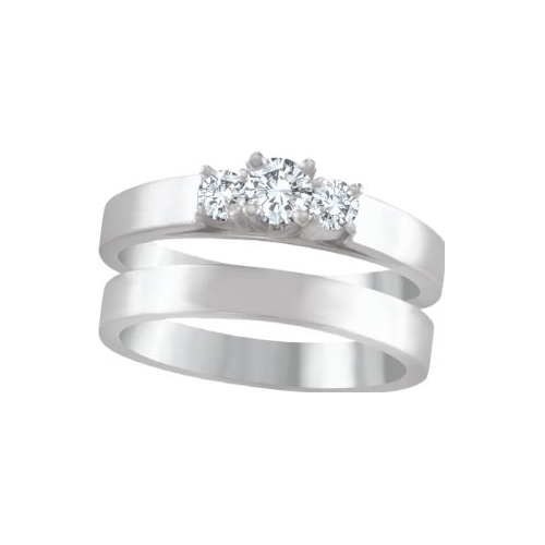 IMAGE OF 31-B200 ENGAGEMENT RINGS_BRIDAL SETS WITH MATCHING BAND