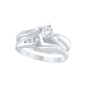 IMAGE OF 31-B204 ENGAGEMENT RINGS_BRIDAL SETS WITH MATCHING BAND