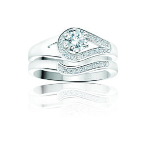 31-B214 ENGAGEMENT RINGS_BRIDAL SETS WITH MATCHING BAND