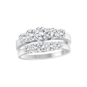 31-B221 ENGAGEMENT RINGS_BRIDAL SETS WITH MATCHING BAND