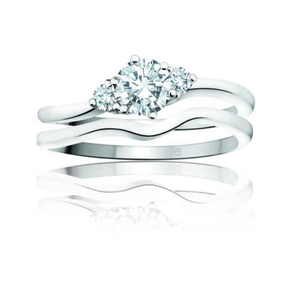 image of 31-B237 ENGAGEMENT RINGS_BRIDAL SETS WITH MATCHING BAND