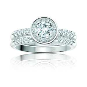 31-B240 ENGAGEMENT RINGS_BRIDAL SETS WITH MATCHING BAND