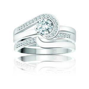 31-B241 ENGAGEMENT RINGS_BRIDAL SETS WITH MATCHING BAND