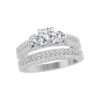 image of 31-B244 ENGAGEMENT RINGS_BRIDAL SETS WITH MATCHING BAND