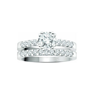 IMAGE OF 31-B266 ENGAGEMENT RINGS_BRIDAL SETS WITH MATCHING BAND